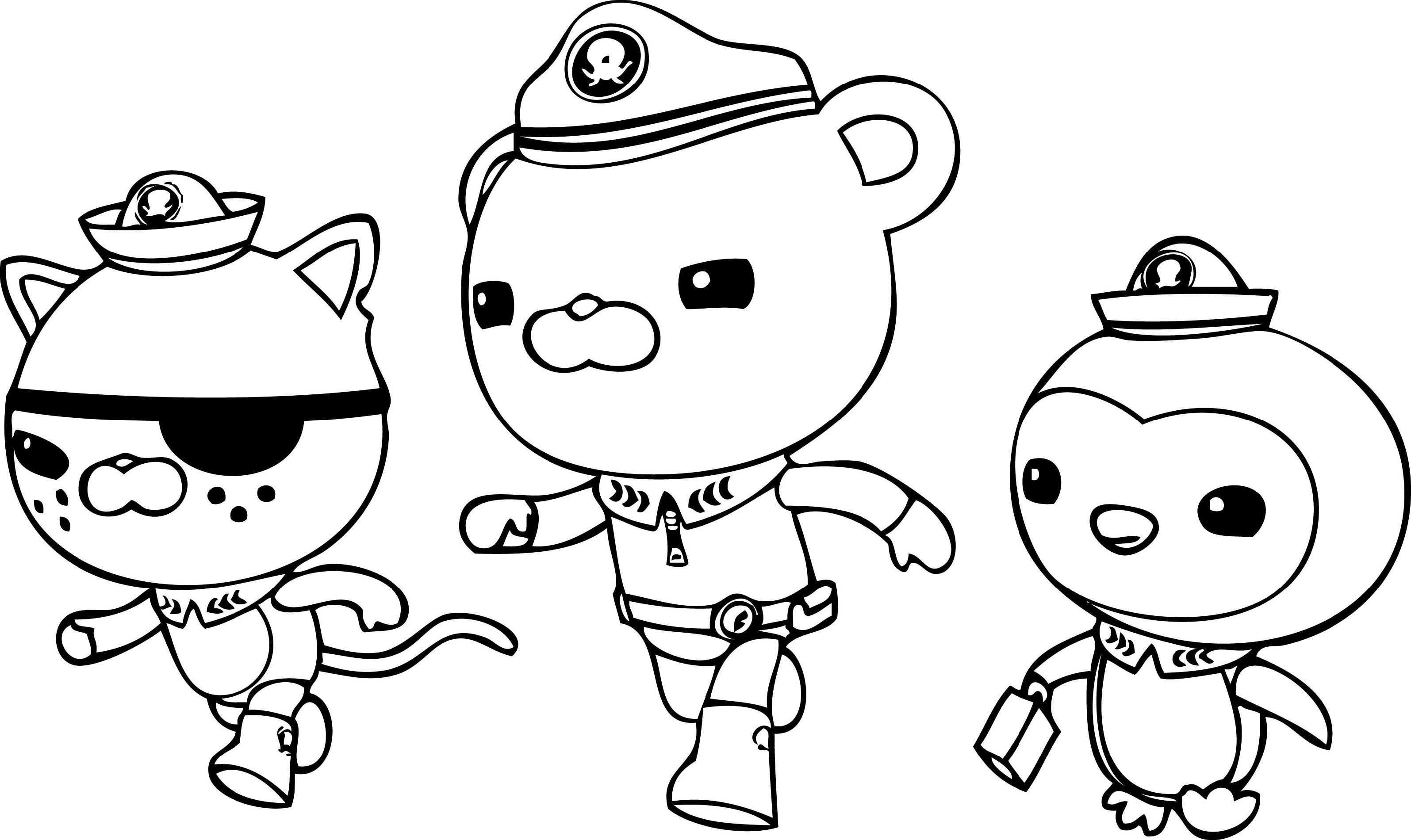 octonauts coloring pages 2
