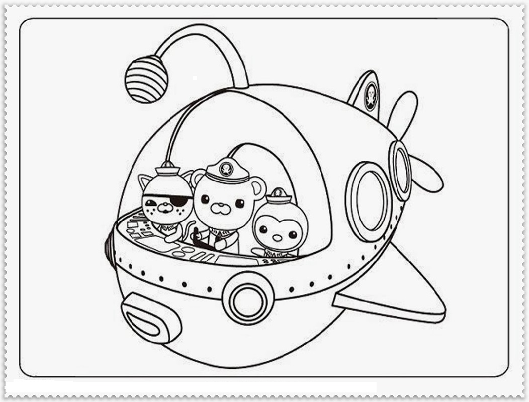 octonauts coloring pages 3