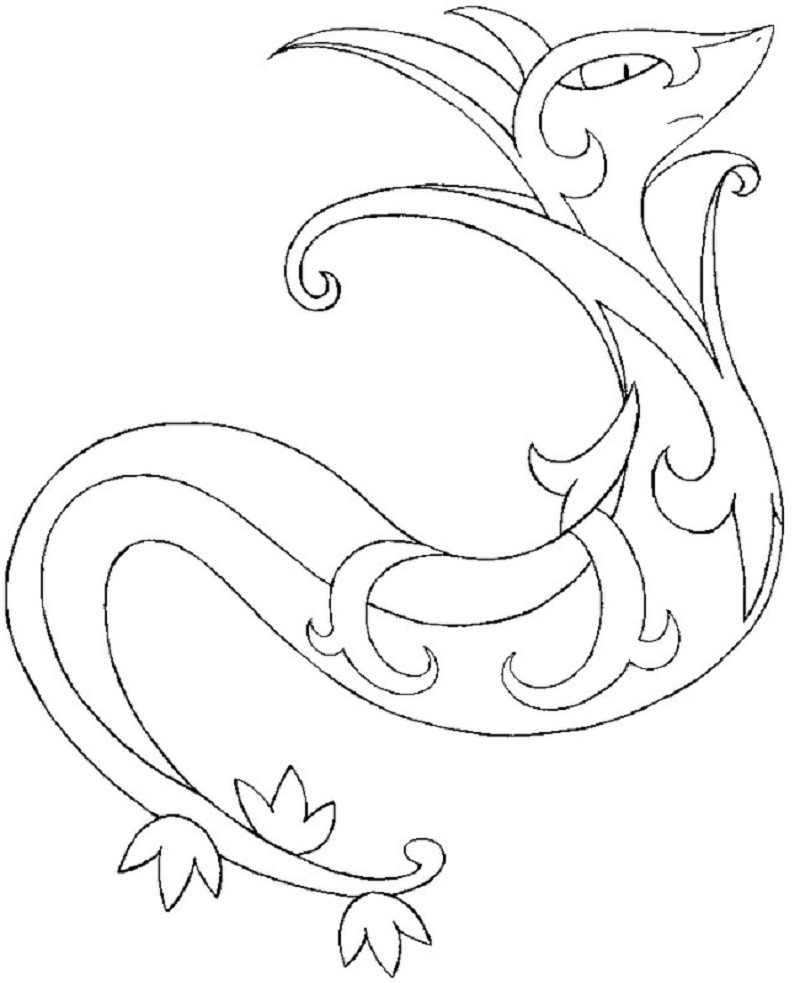 pokemon ex coloring pages 5
