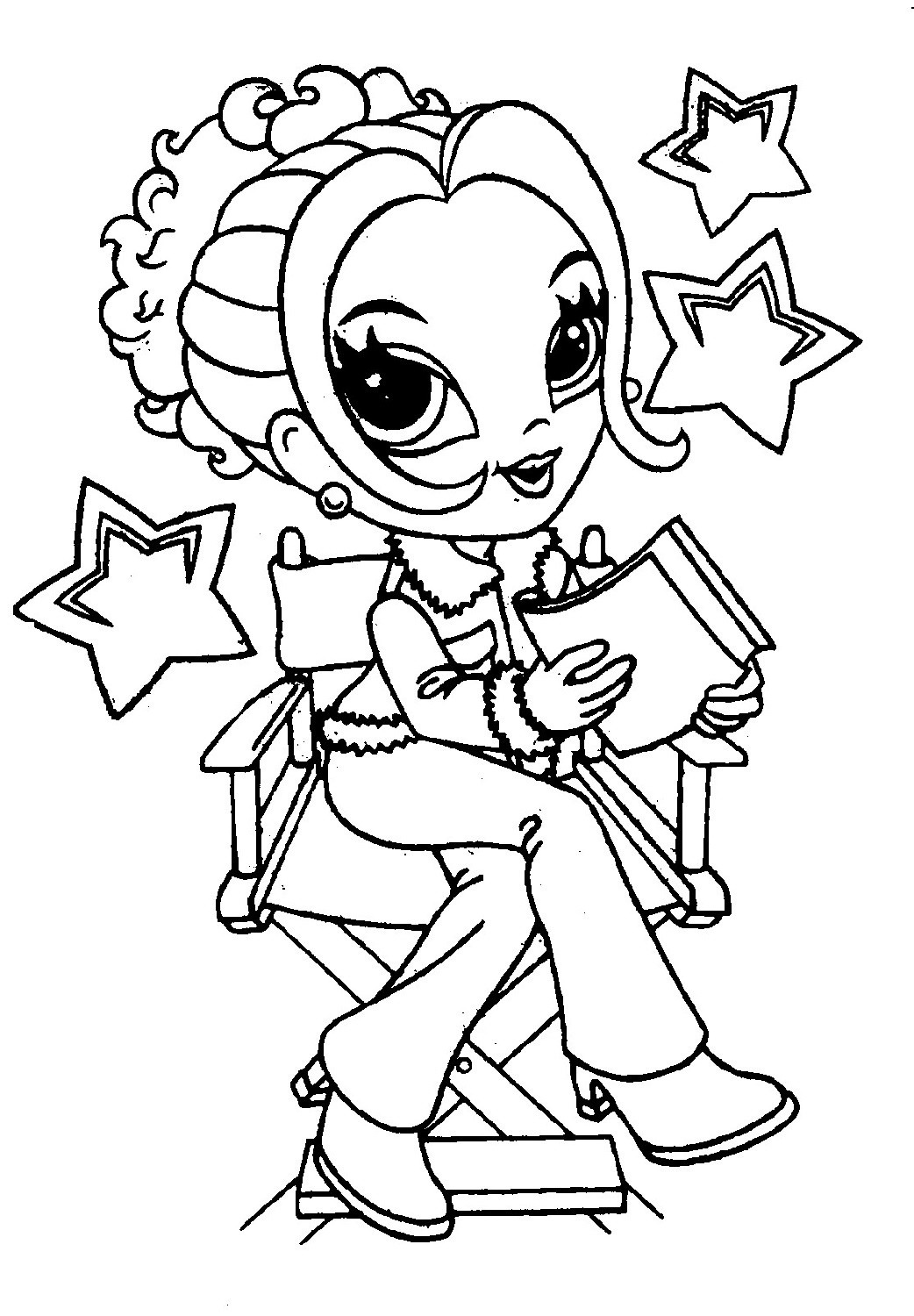 printable coloring pages for girls 2