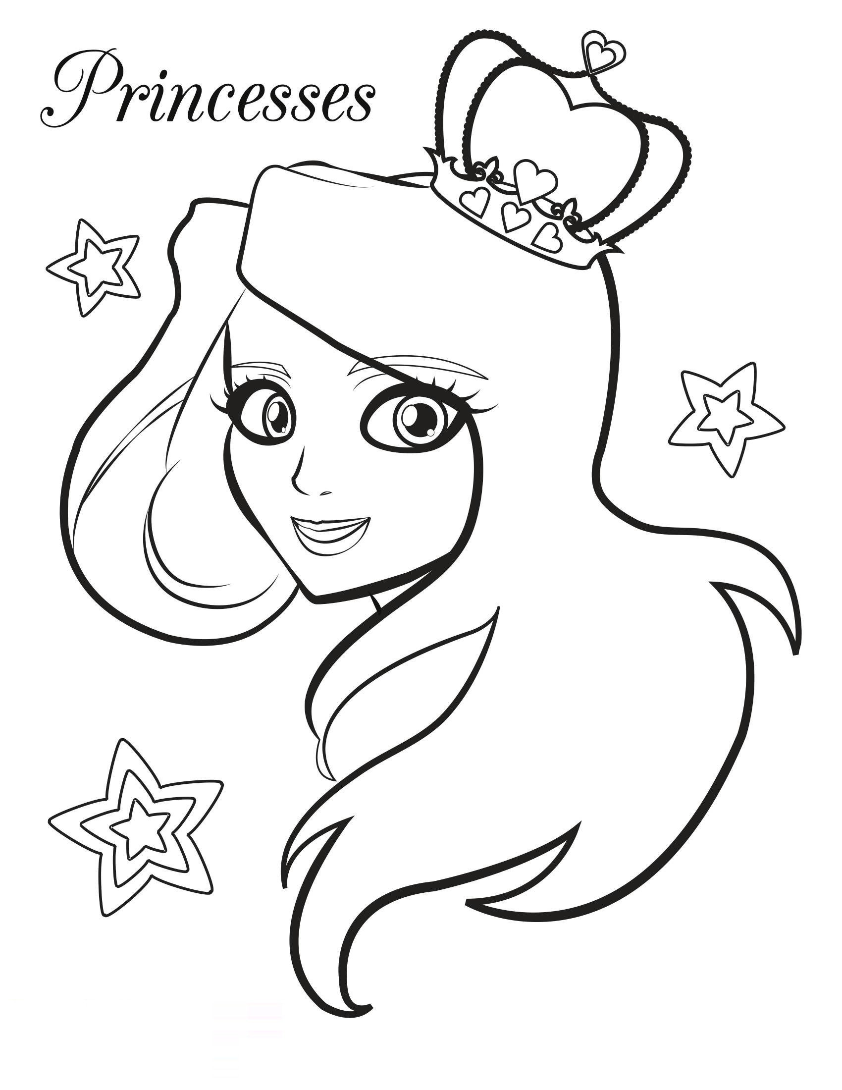 printable coloring pages for girls 3