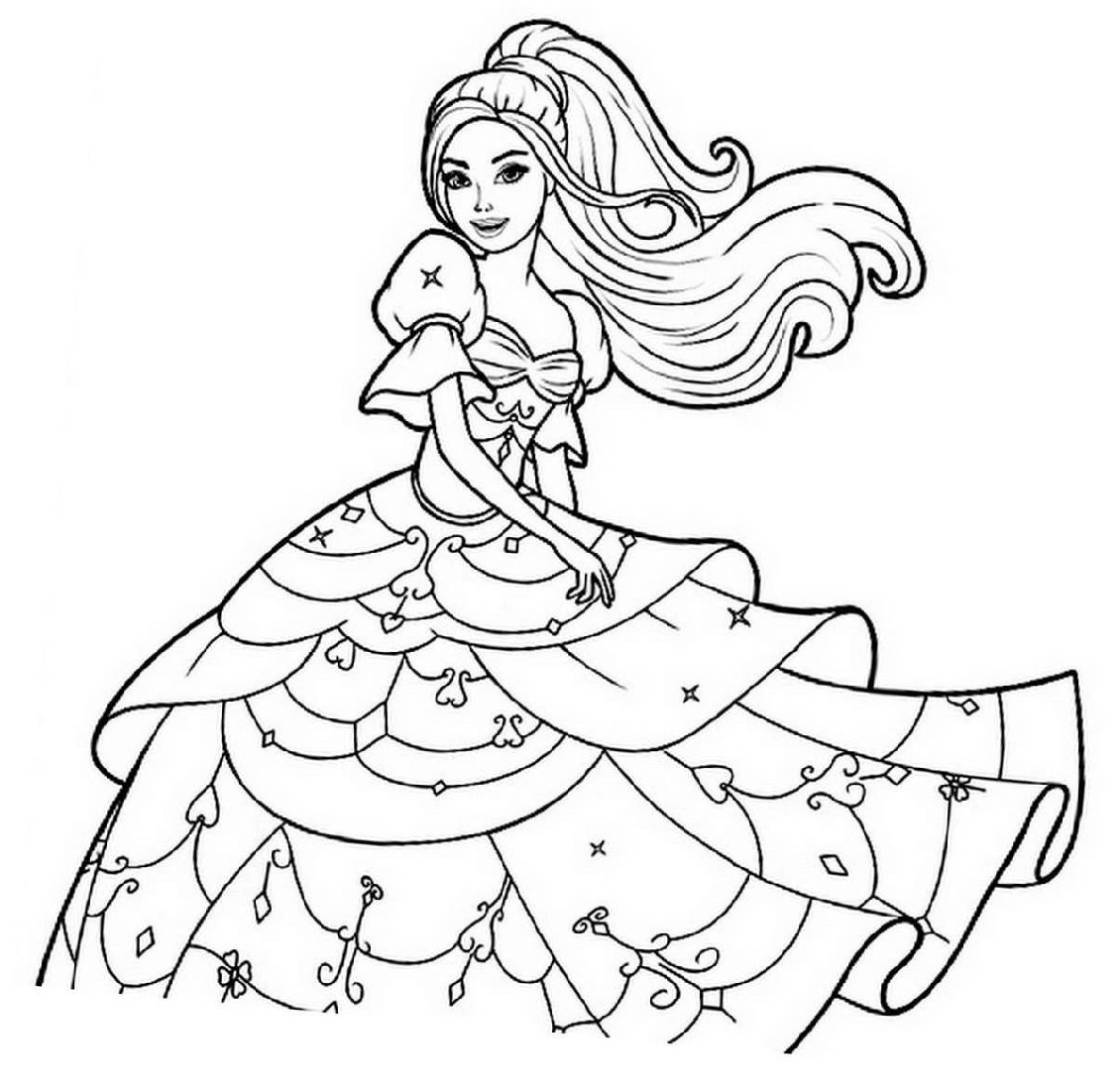 printable coloring pages for girls 5