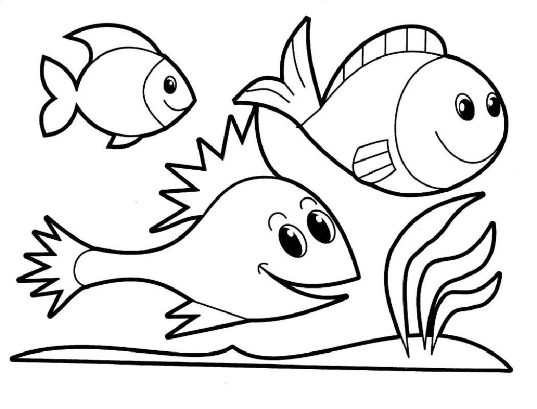 simple coloring pages 4