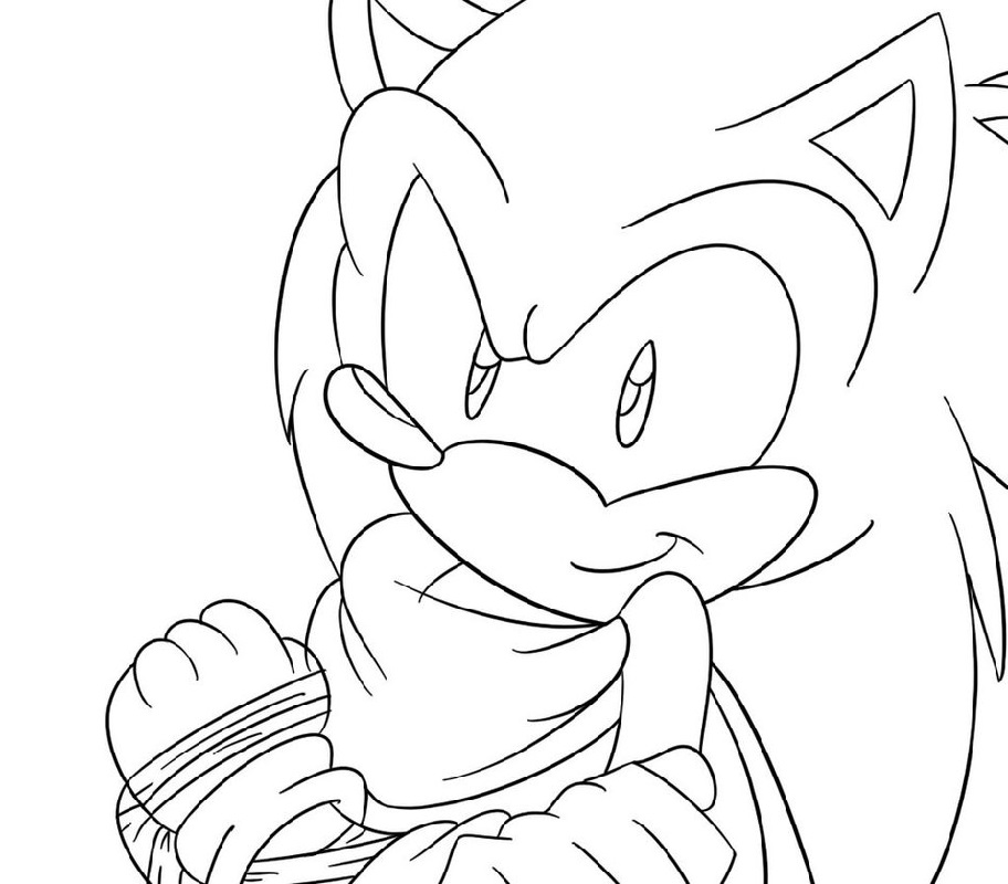 sonic boom coloring pages 4