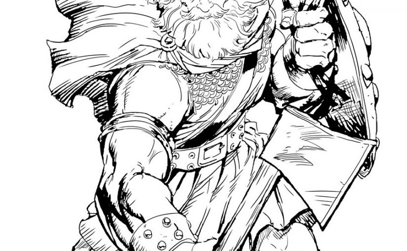 Viking Coloring Pages for Students and Teachers