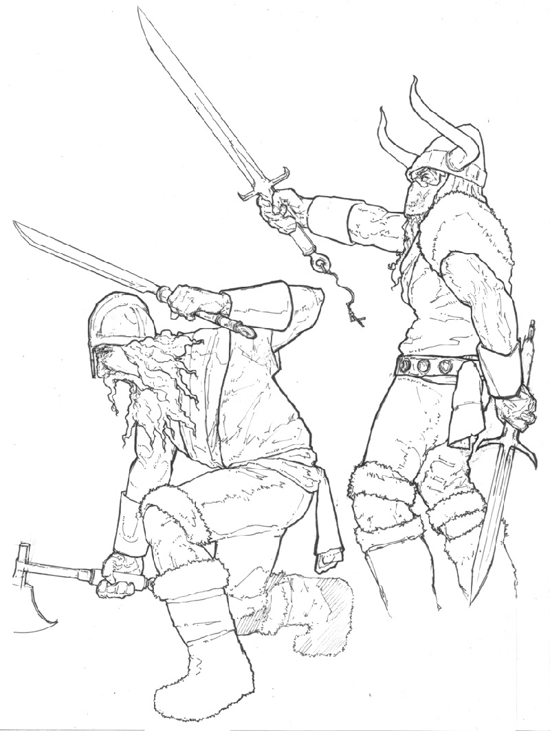 viking coloring pages 5