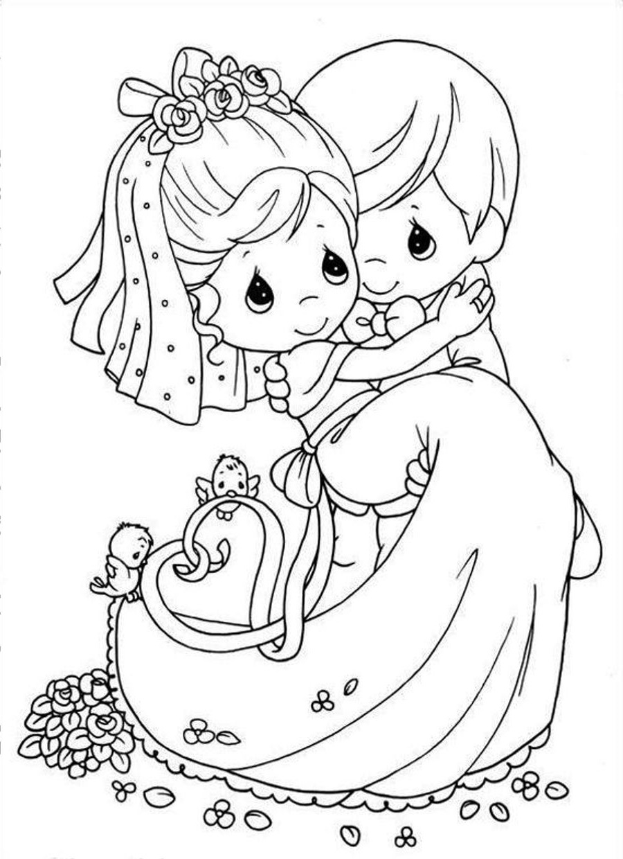 wedding coloring pages 5