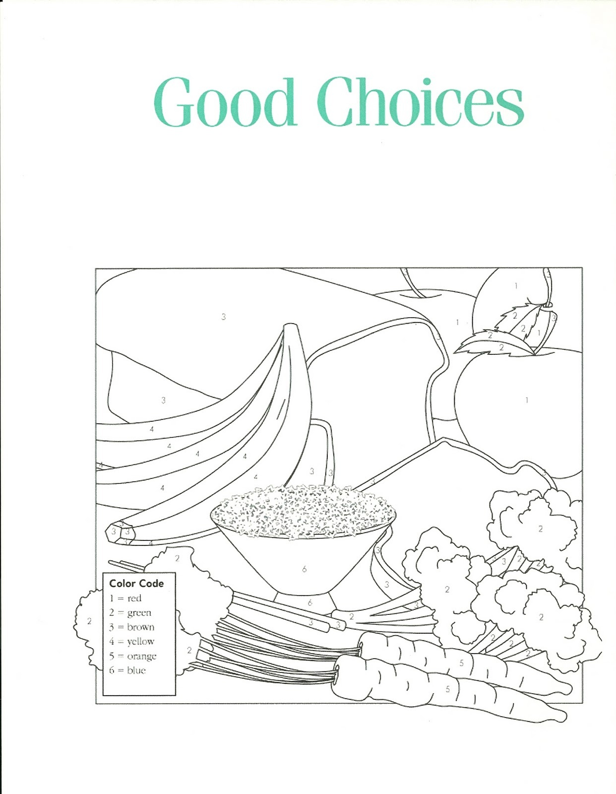 word of wisdom coloring page 1
