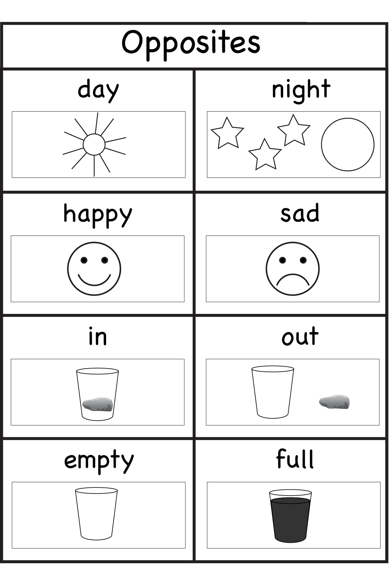 activity sheets for 4 year olds 4