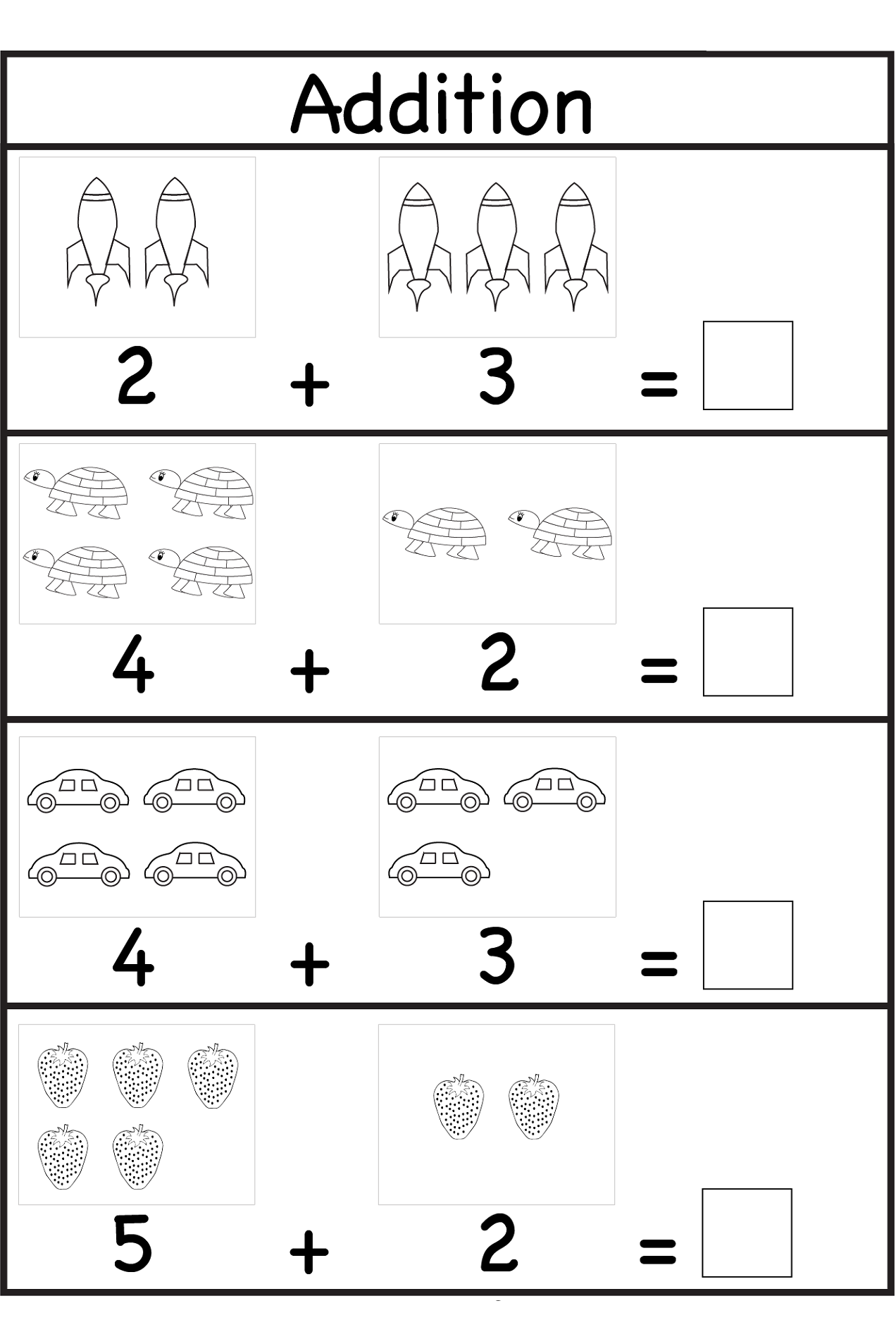 activity sheets for 4 year olds 5