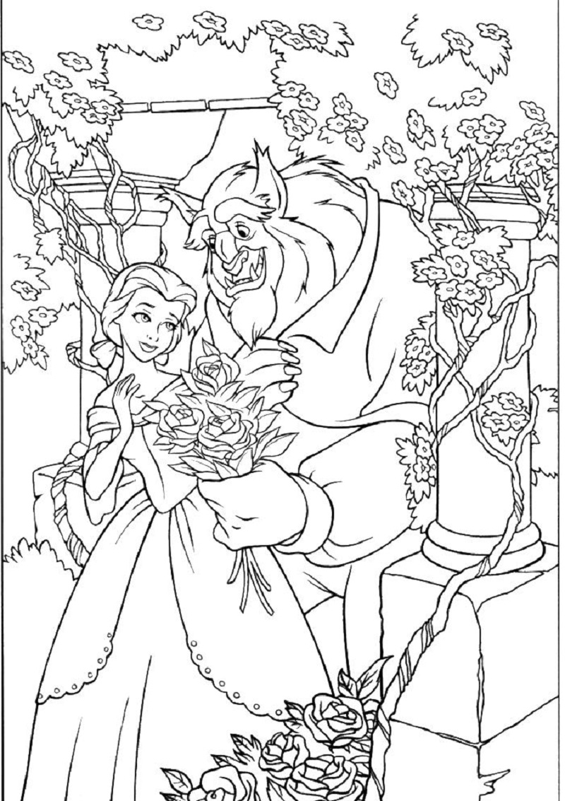 adult disney coloring pages 2