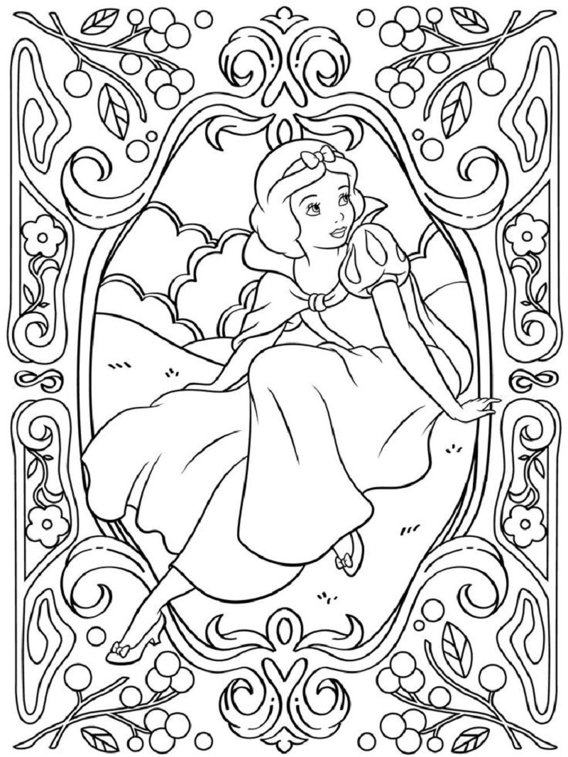 adult disney coloring pages 3