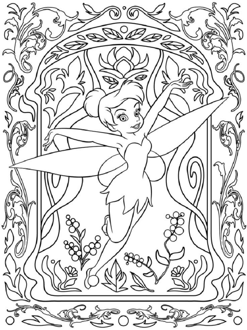adult disney coloring pages 4