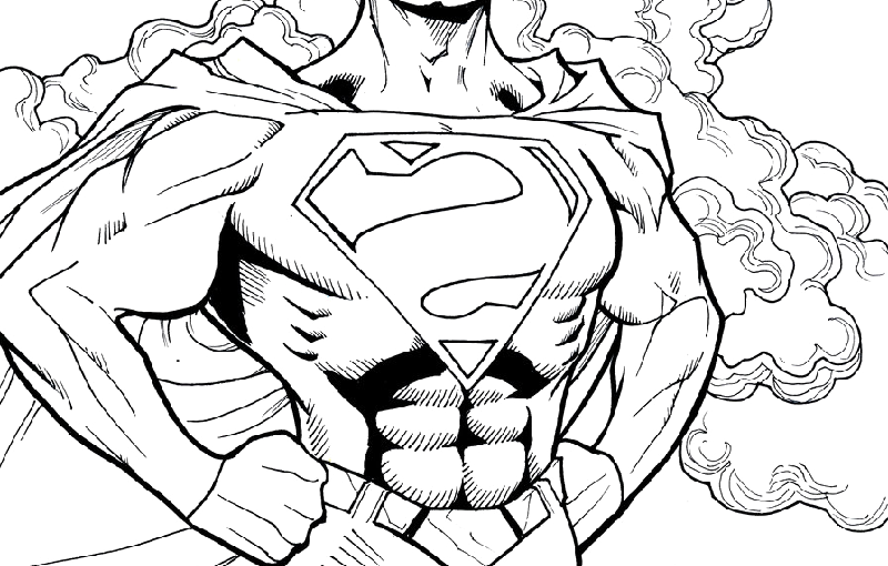 Batman vs Superman Coloring Pages For All Events