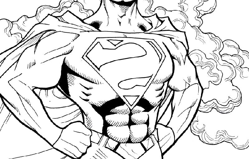 batman vs superman coloring pages 1