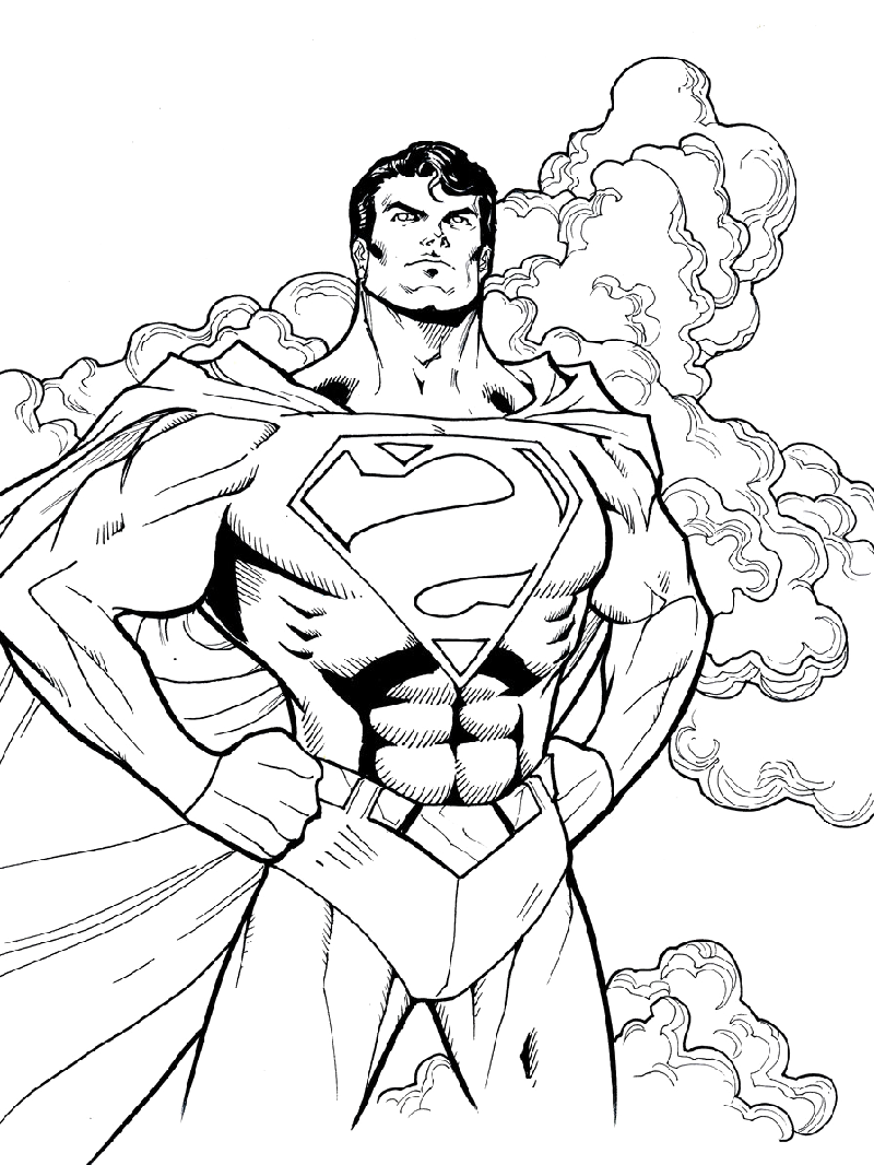 batman vs superman coloring pages 1