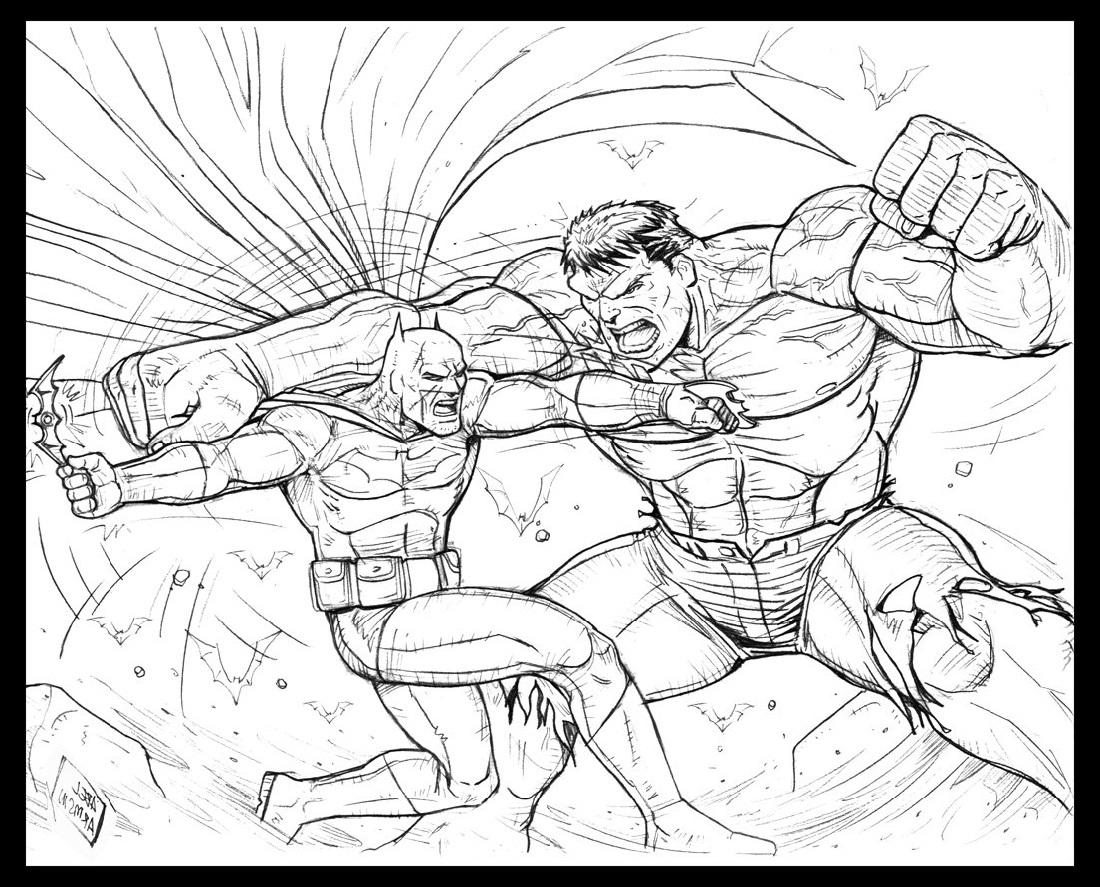 batman vs superman coloring pages 3