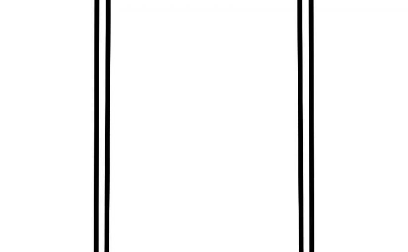 cell phone coloring page 1