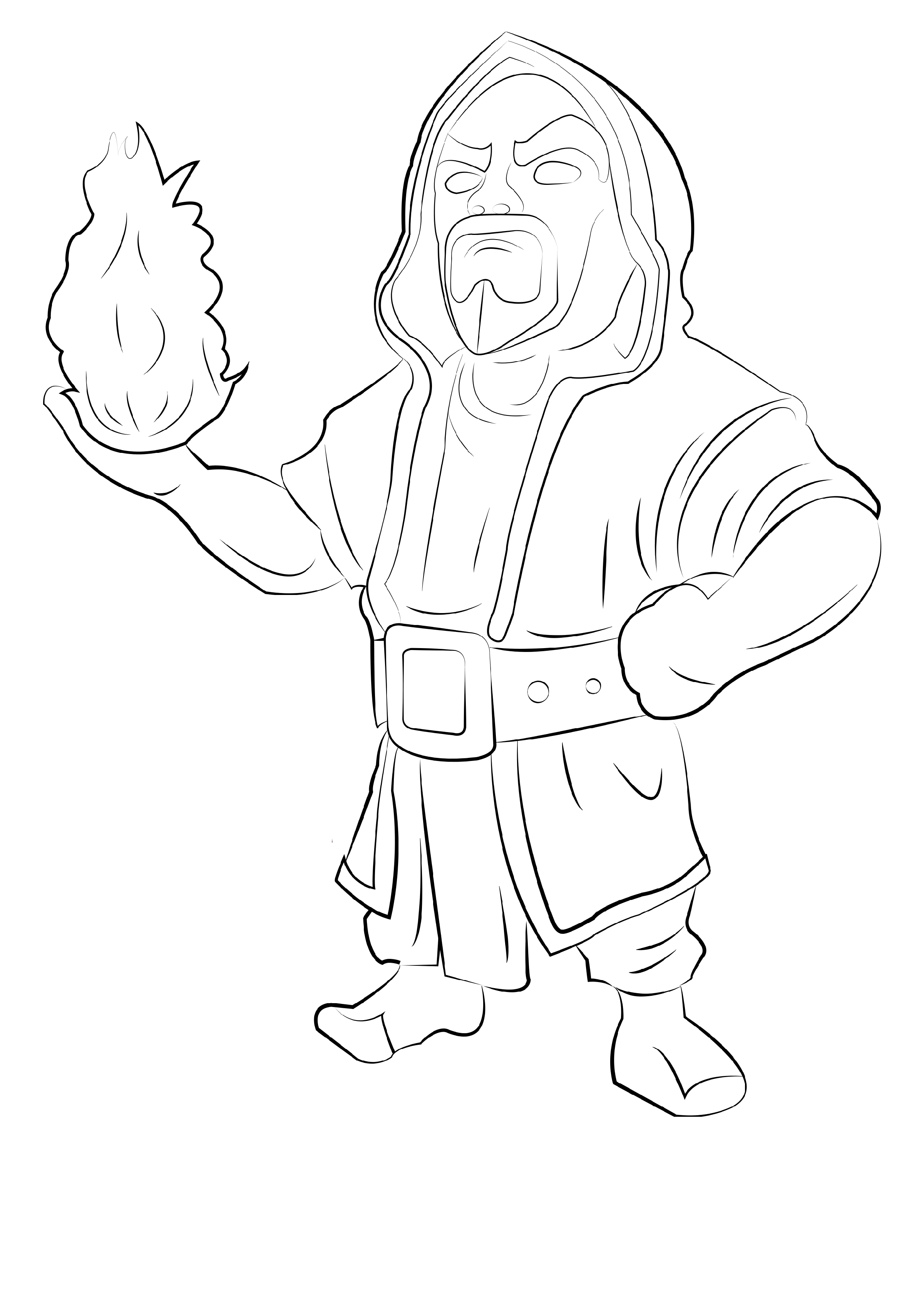 clash of clans coloring pages 1