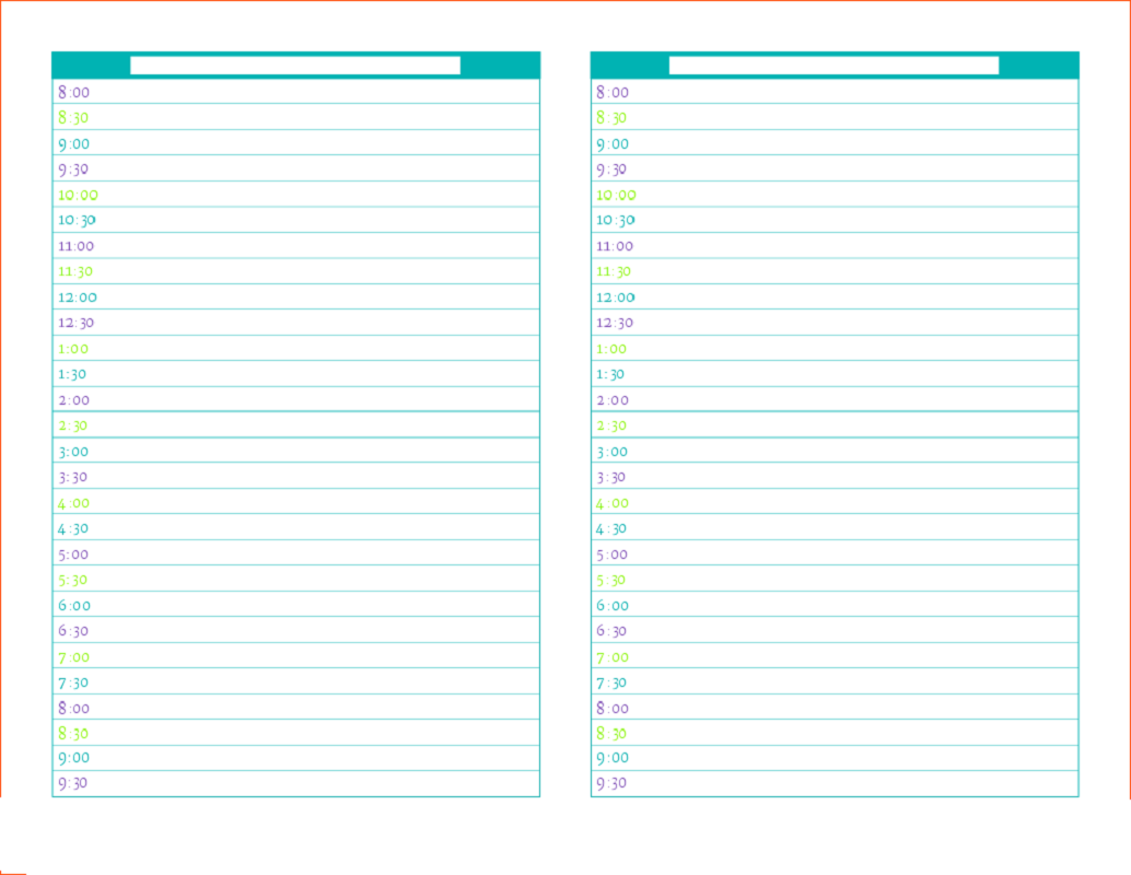 free printable planner pages 4