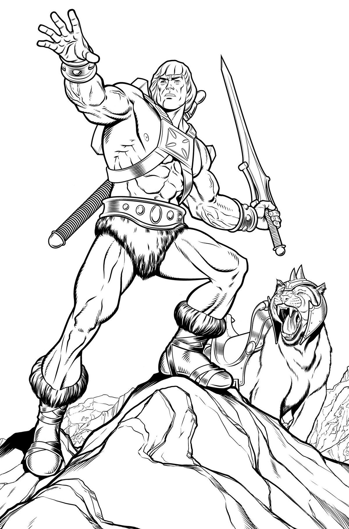 he man coloring pages 4