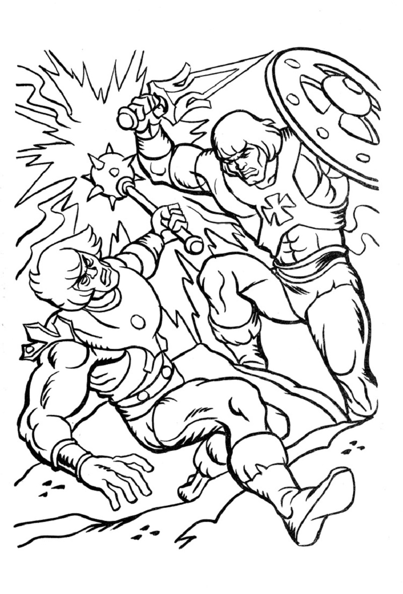 he man coloring pages 5