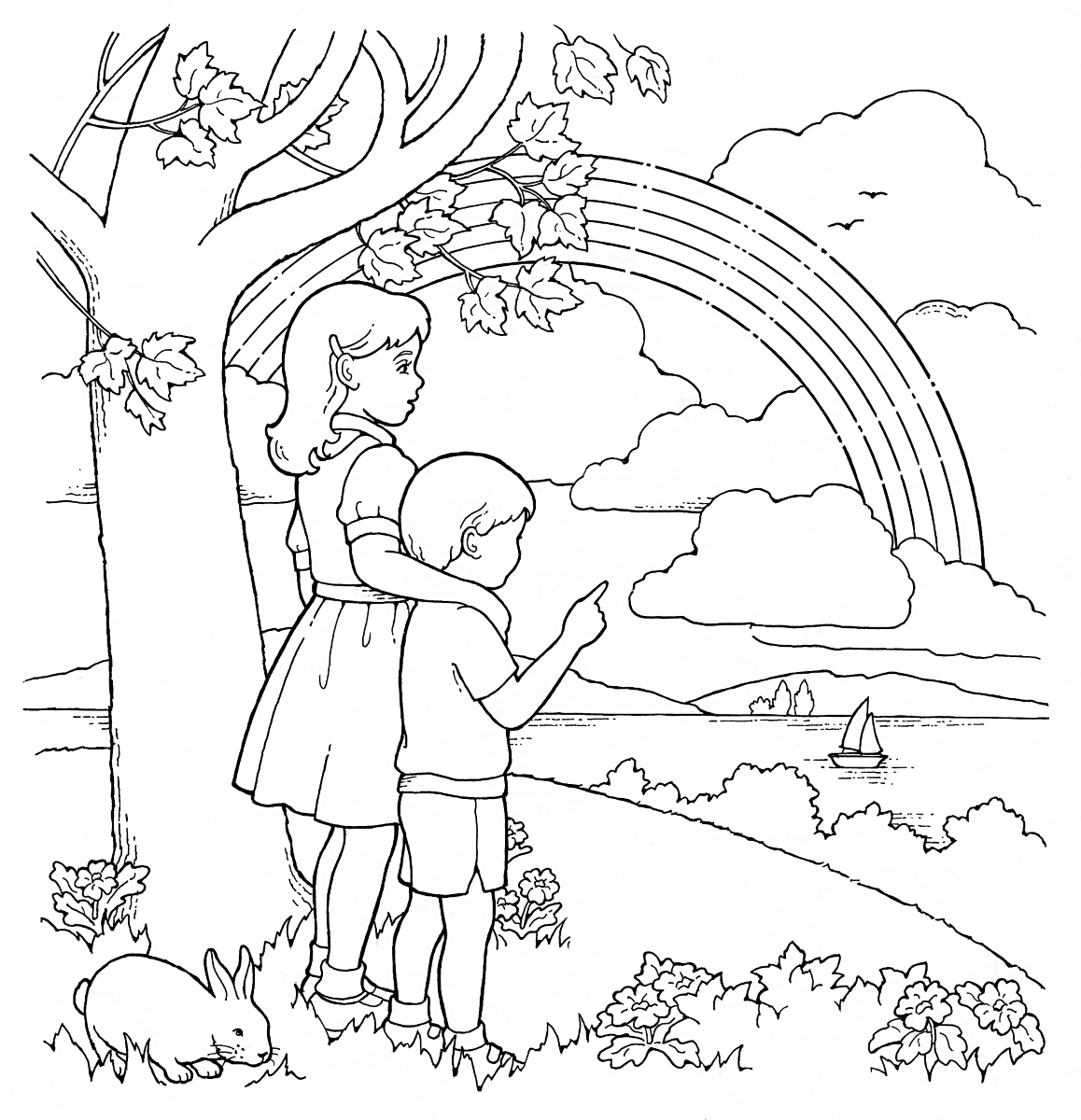 lds coloring pages 1
