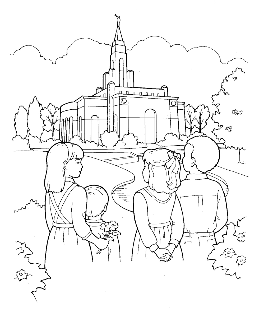 lds coloring pages 2