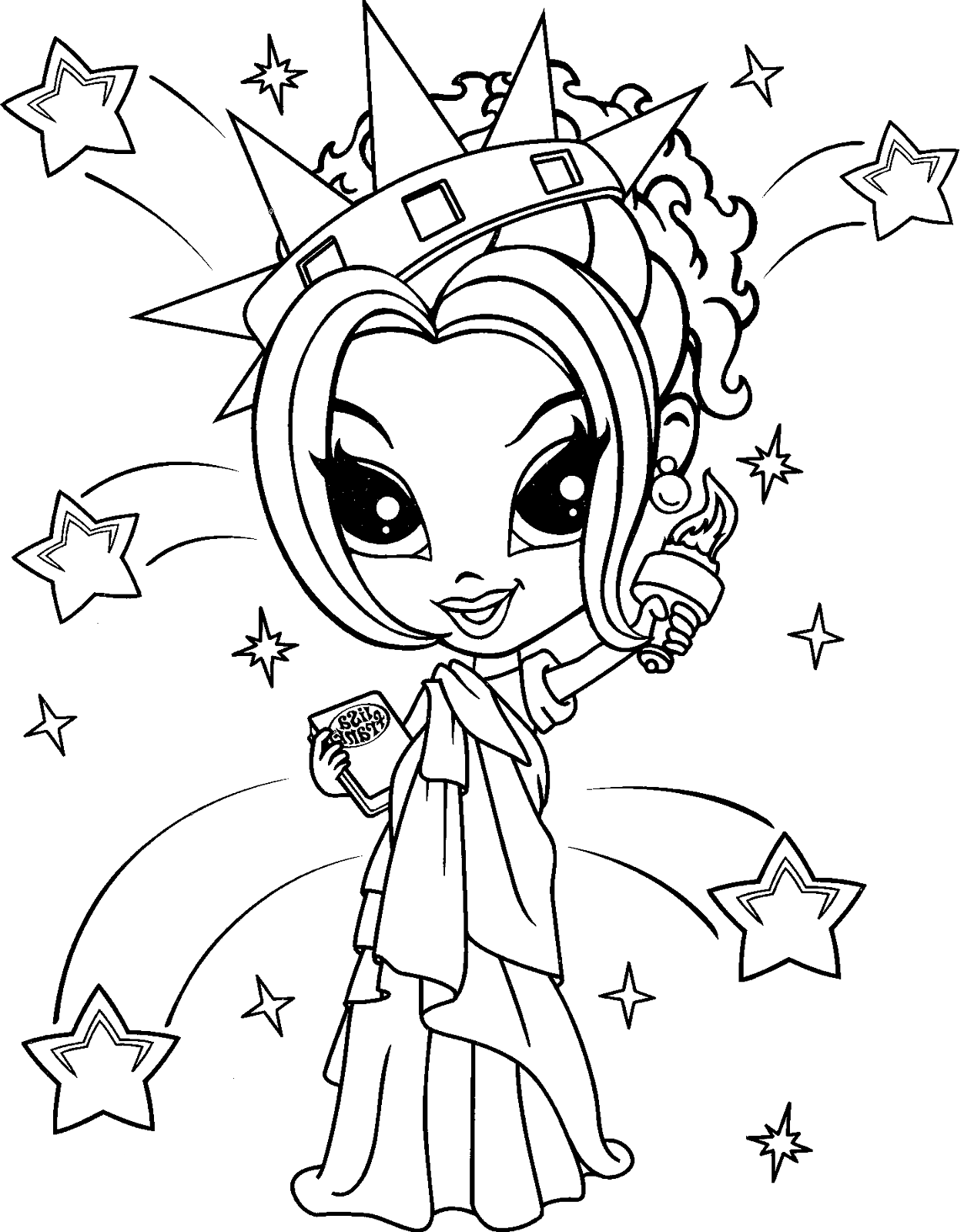 lisa frank coloring pages 1