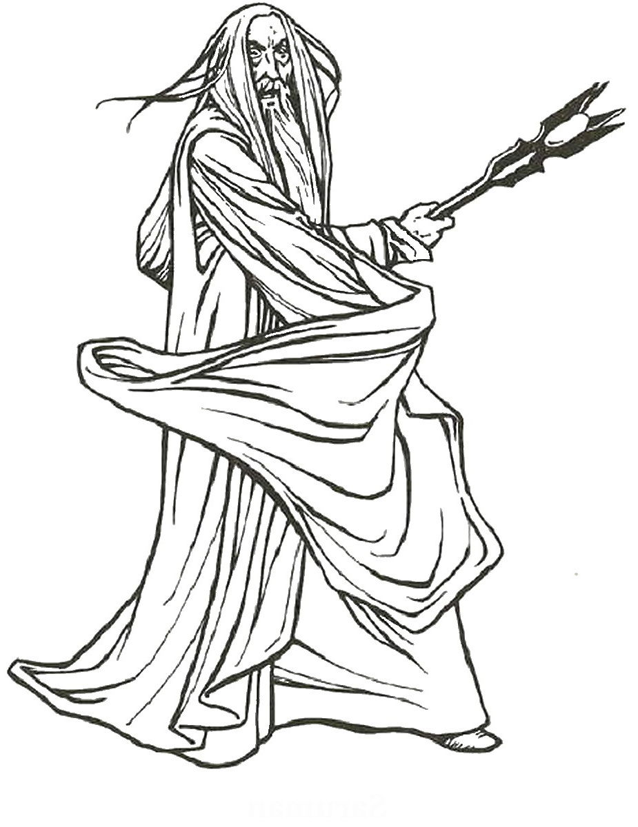 lord of the rings coloring pages 4