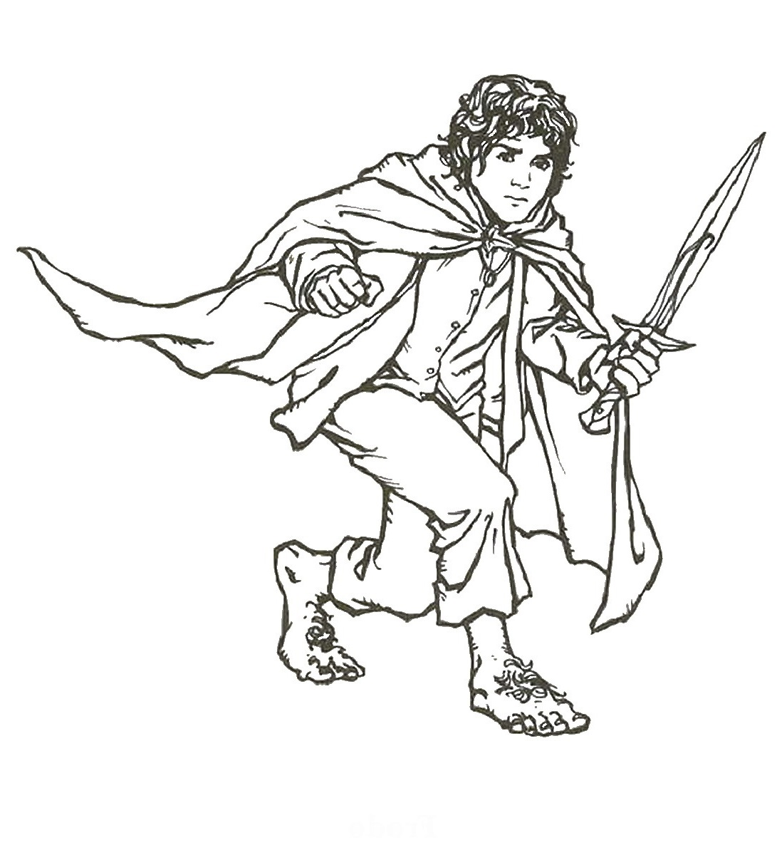 lord of the rings coloring pages 5