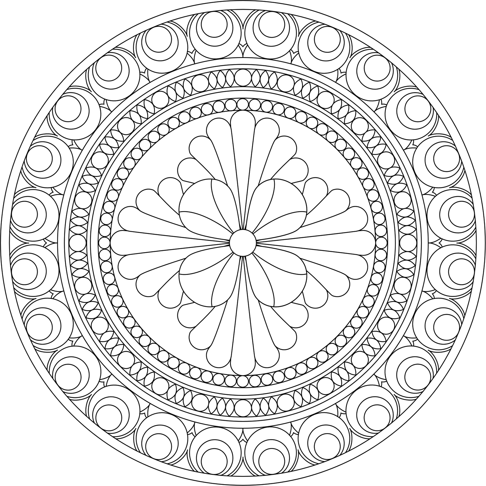 mandala coloring book 4