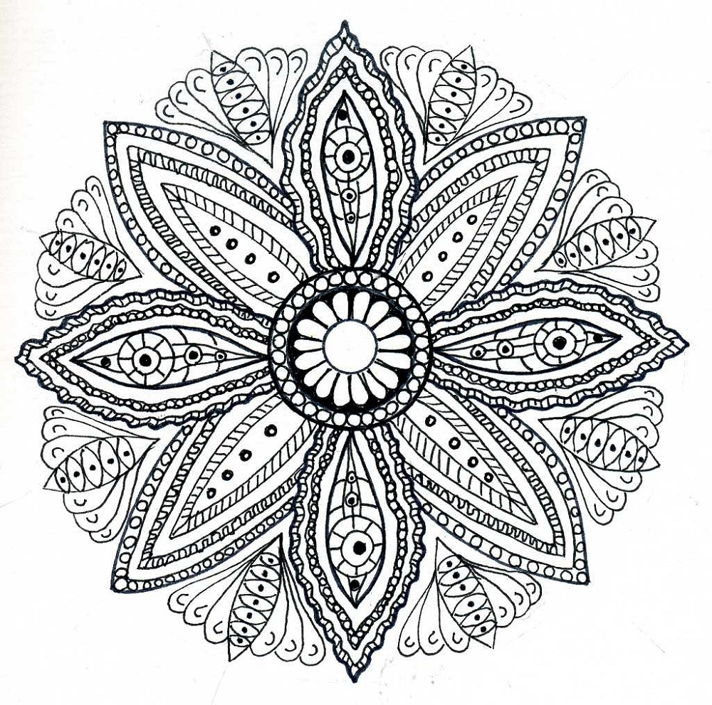 mandala coloring book 5