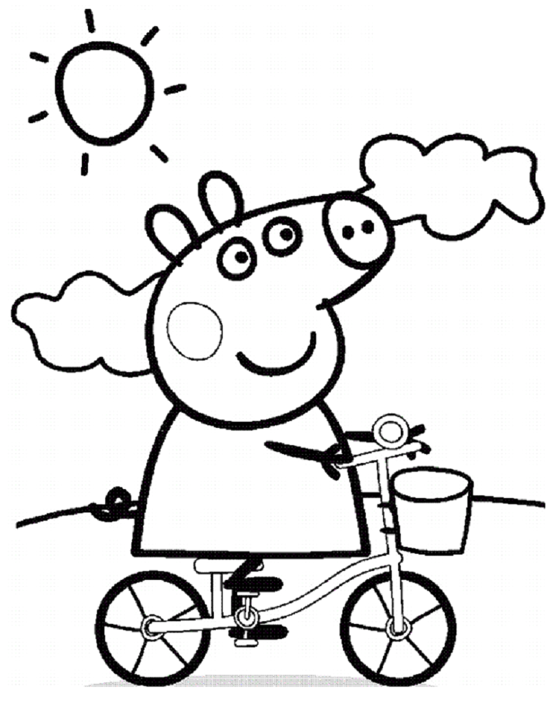 peppa pig coloring pages 3
