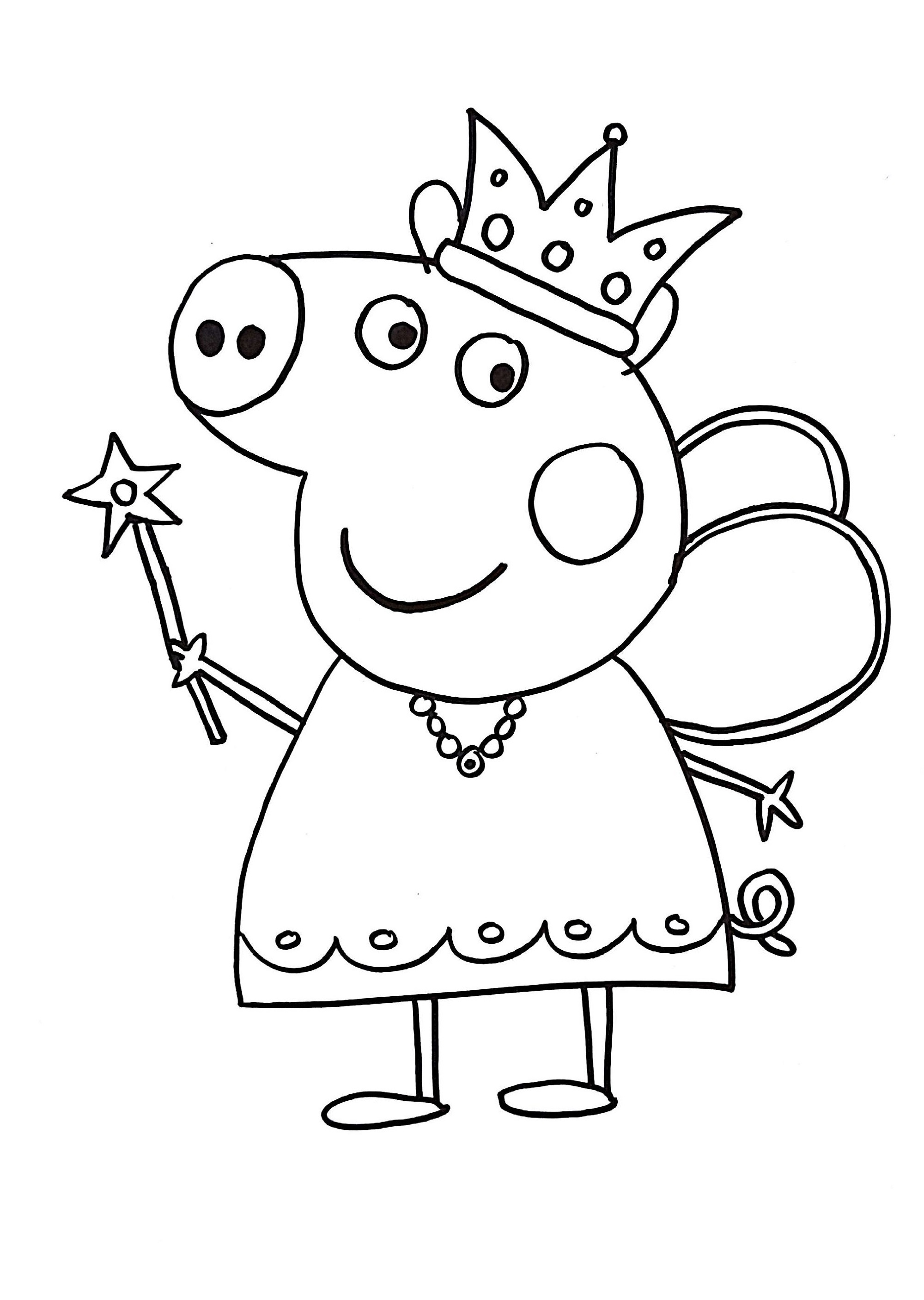 peppa pig coloring pages 5