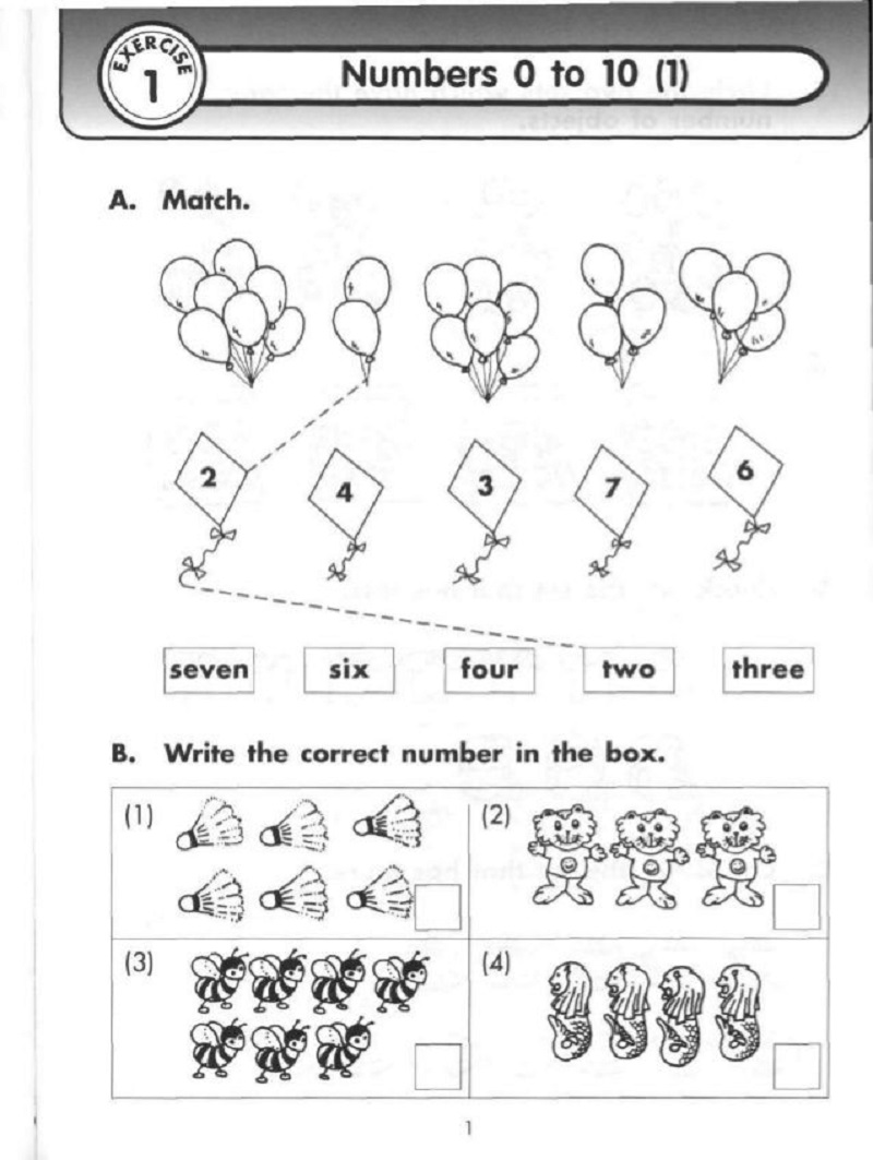 primary maths worksheets printable 2