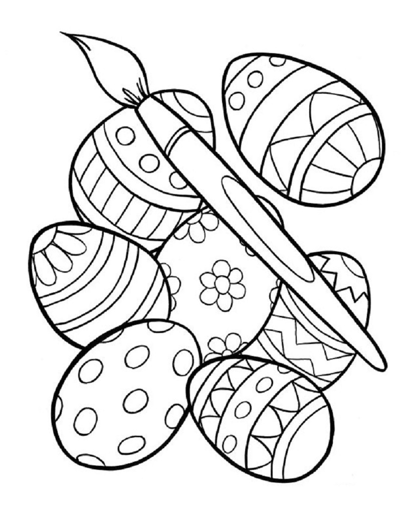 printable easter coloring pages 3