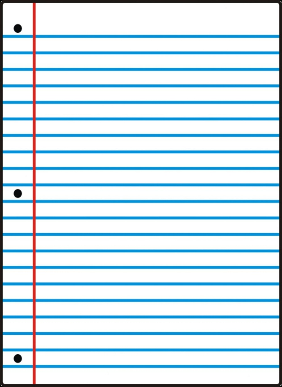printable notebook paper 1