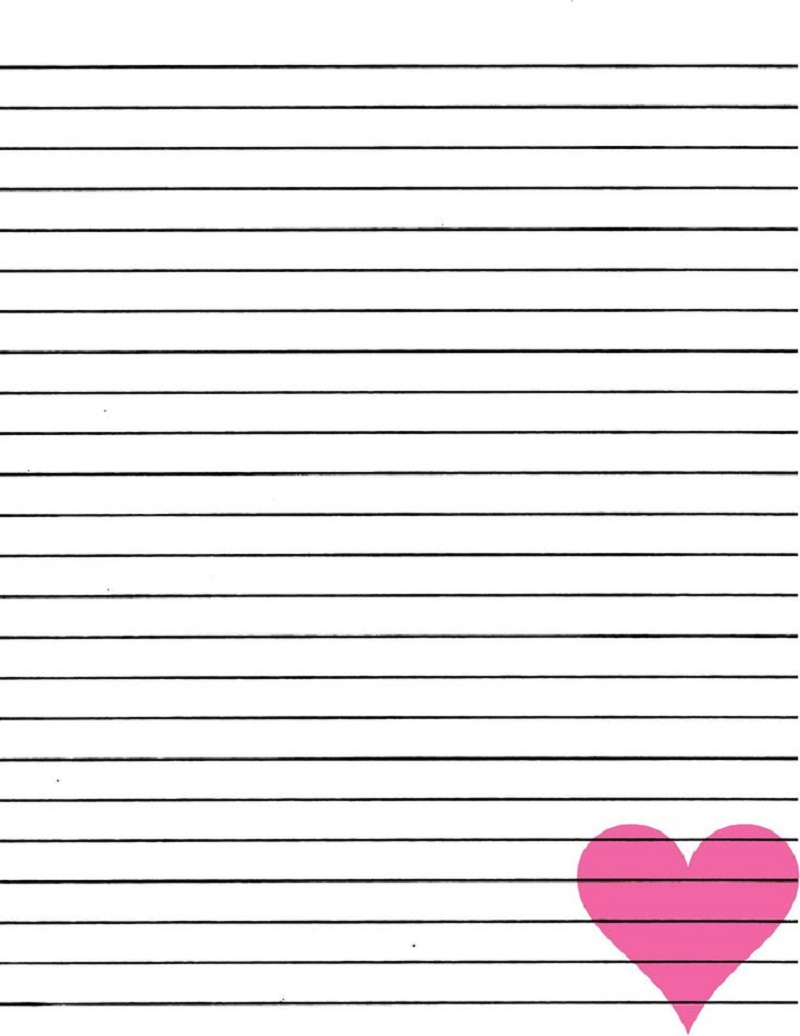 printable notebook paper 2