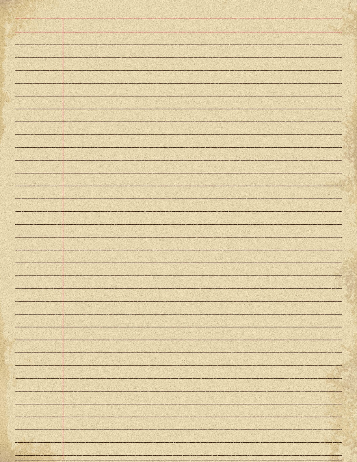 printable notebook paper 5