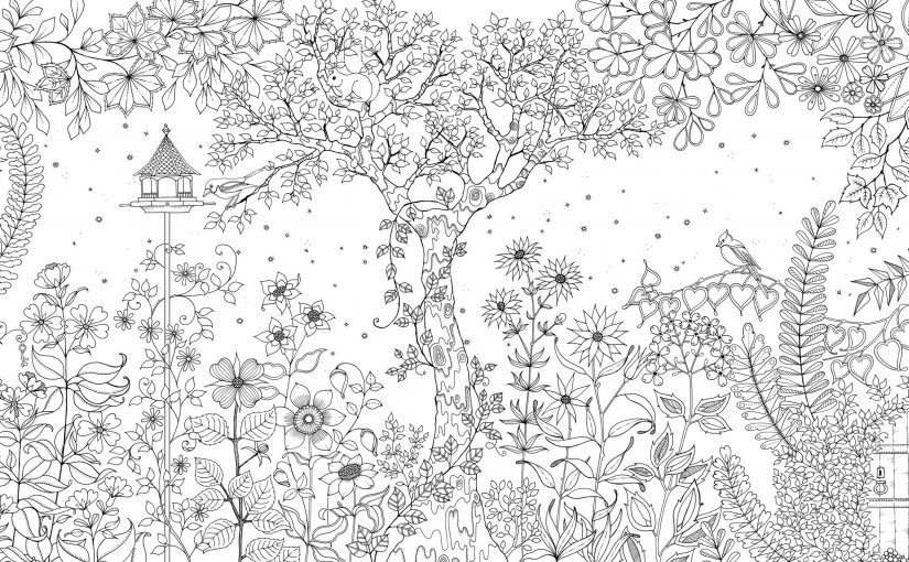 Secret Garden Coloring Book Free Pages