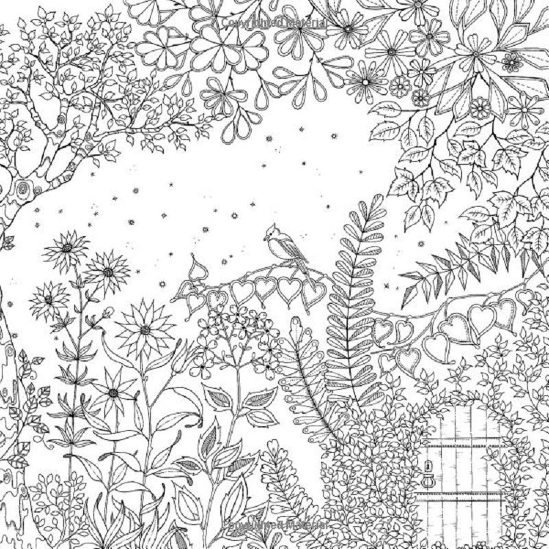 secret garden coloring book 3