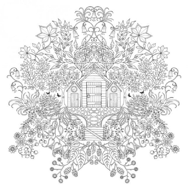 secret garden coloring book 4