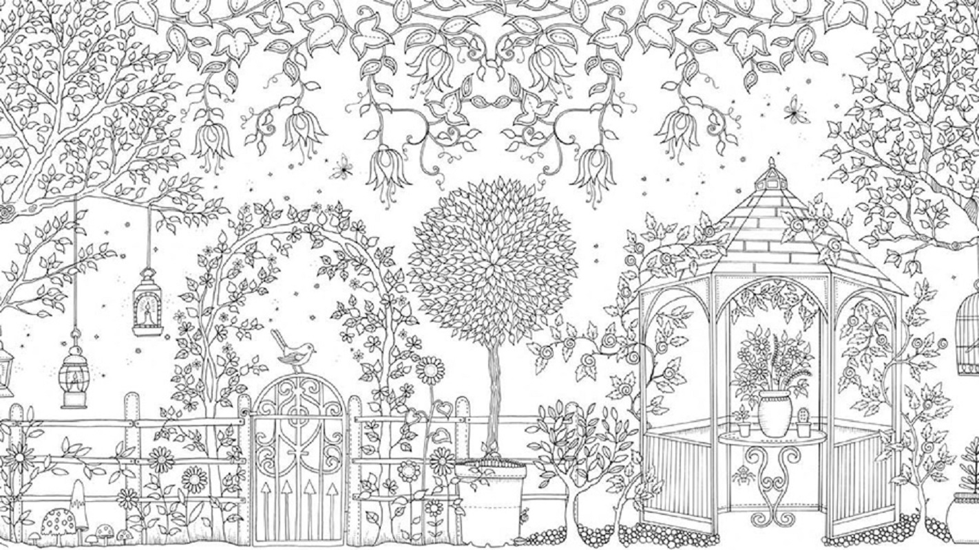 secret garden coloring book 5