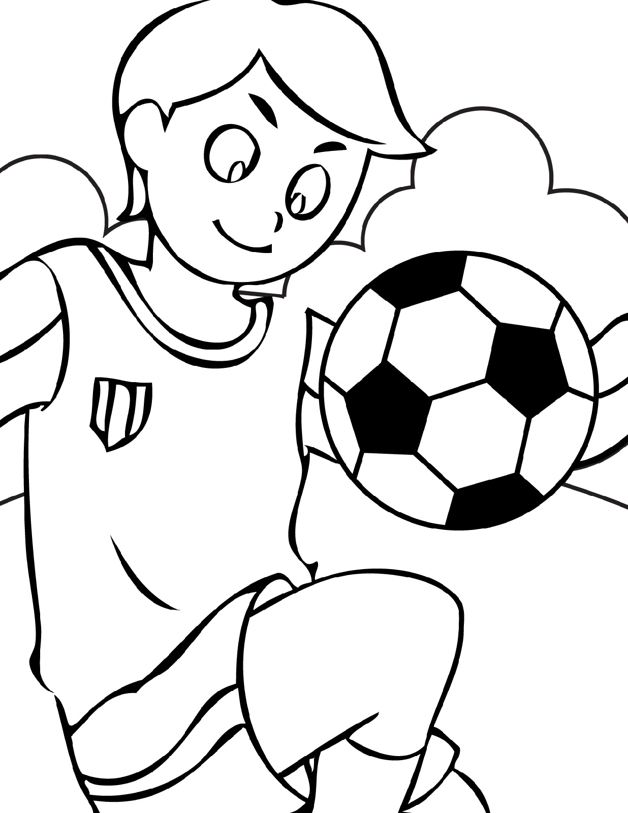 soccer coloring pages 2