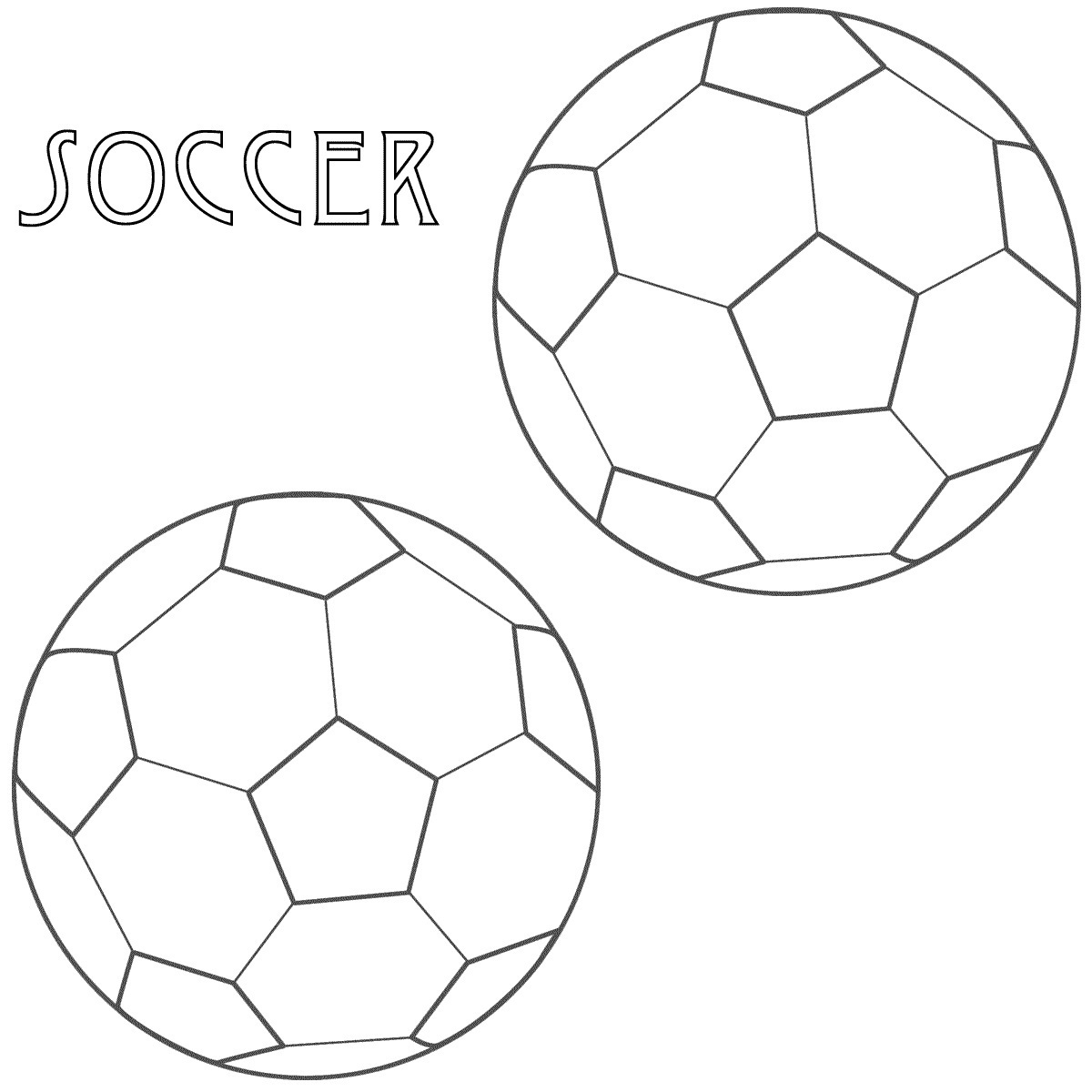 soccer coloring pages 4