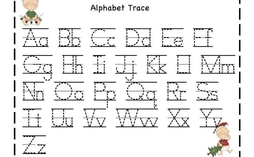 tracing alphabet 1