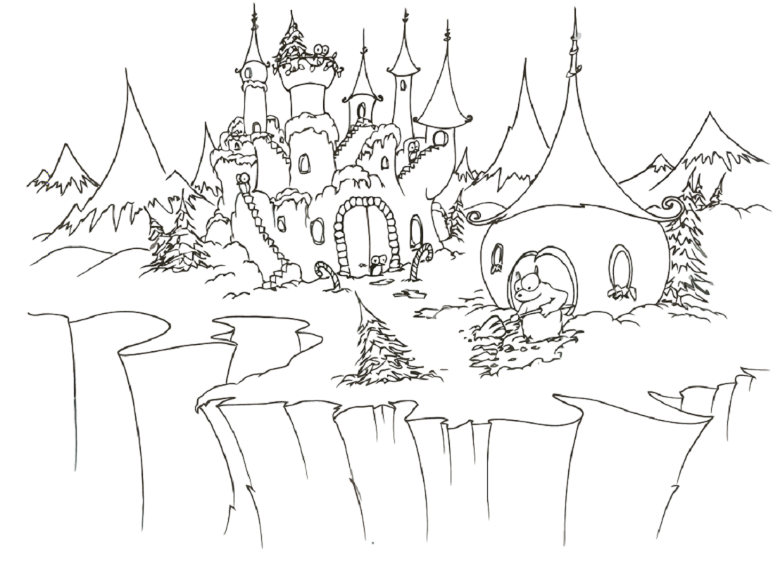 winter wonderland coloring pages 3
