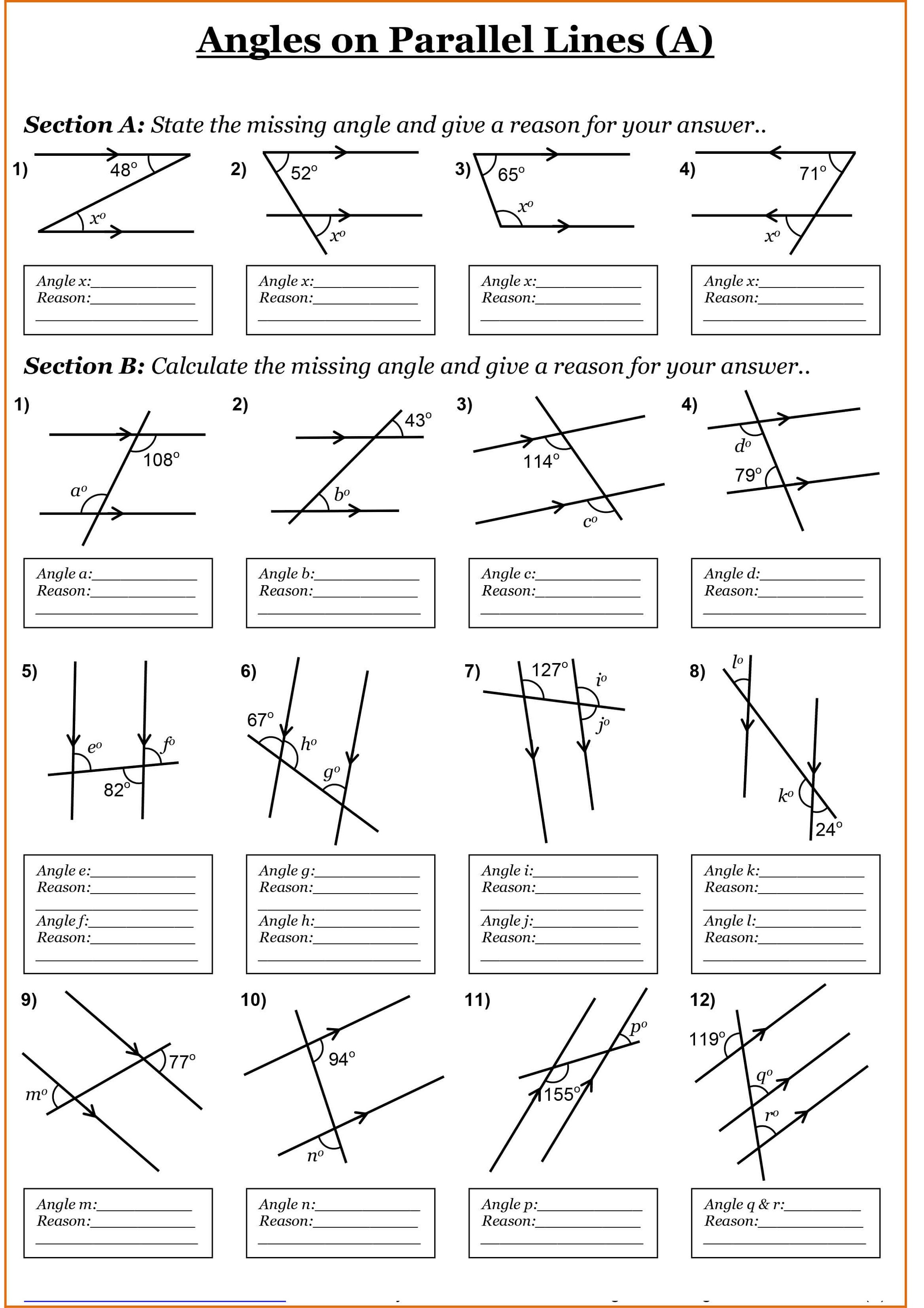 year 7 maths worksheets 2
