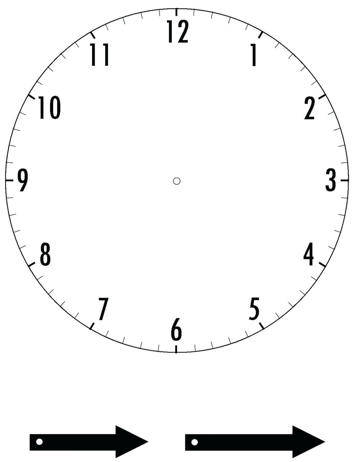 Printable Clock 3